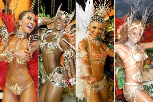 Carnival erotic girls